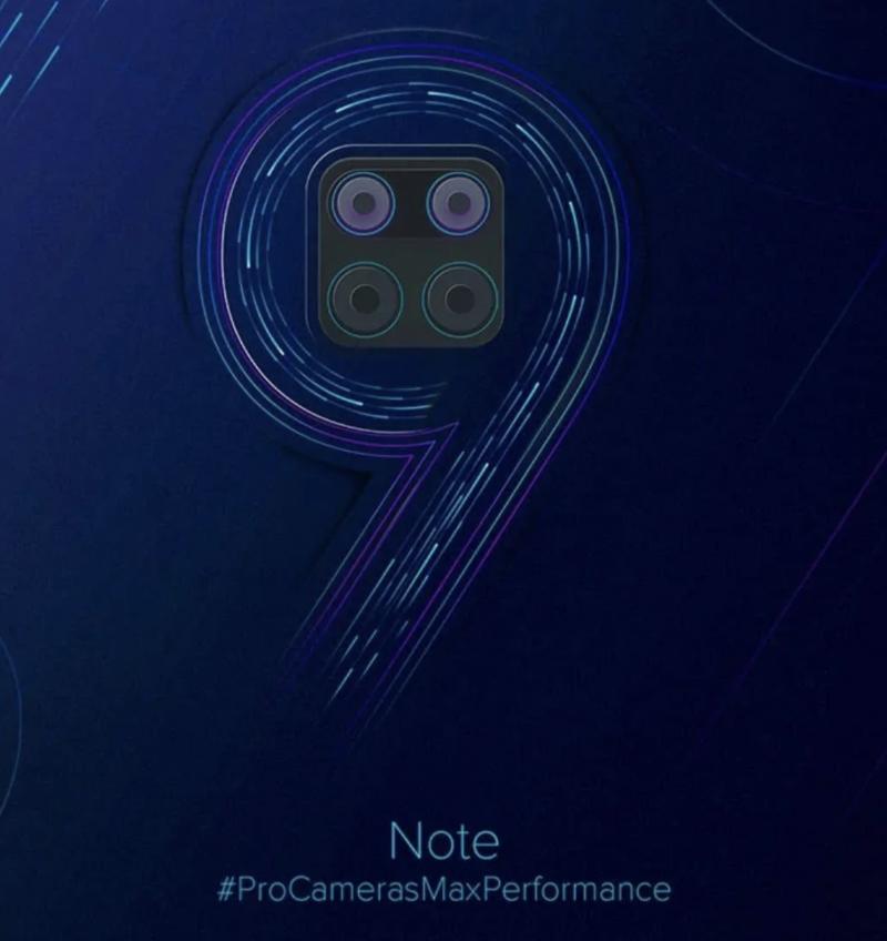 Redmi Note 9 -ennakkokuva.