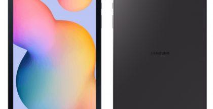 Samsung Galaxy Tab S6 Lite mustana värivaihtoehtona. Kuva: WinFuture.de.