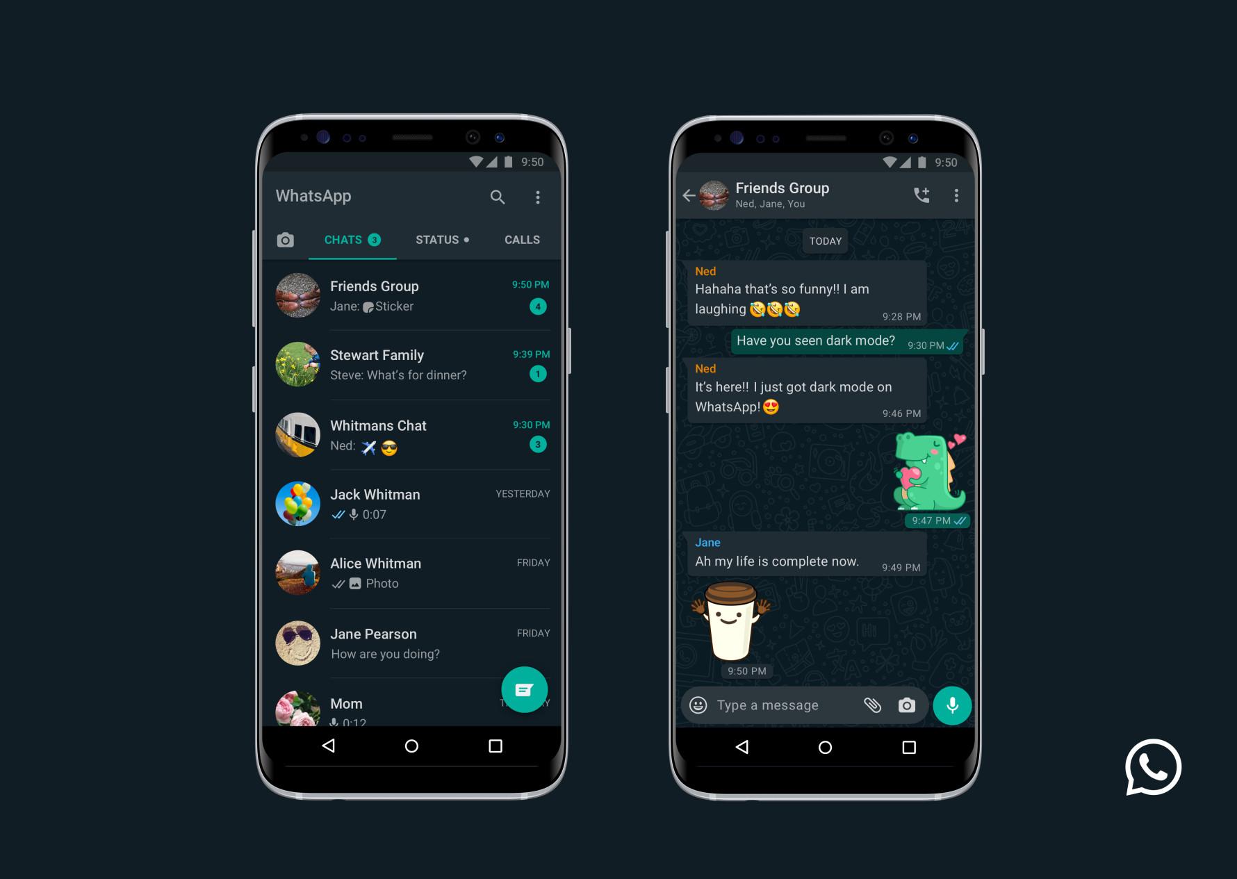 Whatsappiin Vihdoin Tumma Tila Paivitys Saataville Tasta Paivasta Alkaen Mobiili Fi