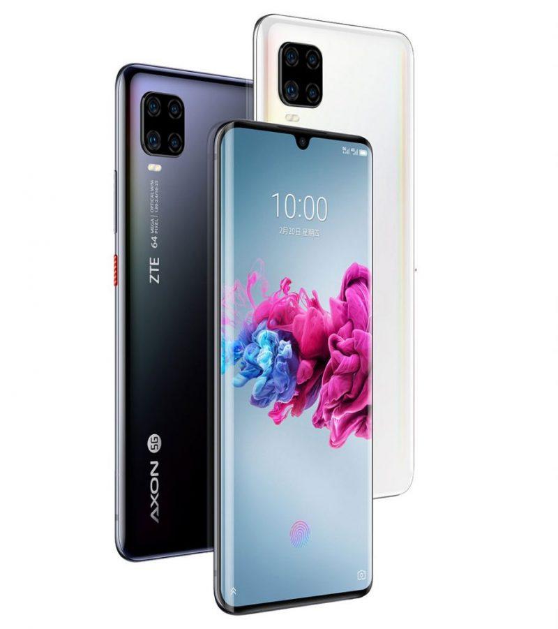 ZTE Axon 11 5G:n värivaihtoehdot.