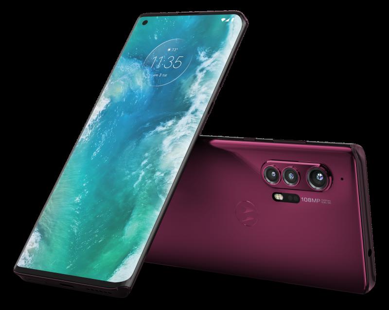 Motorola on palannut tänä keväänä huippupuhelinten markkinoille uudella edge+:lla.