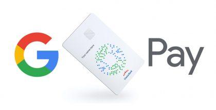 Googlen suunnittelema debit-maksukortti. Kuva: TechCrunch.