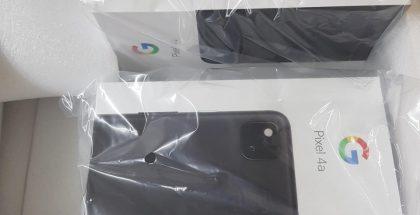 Uusi vuotokuva paljasti Google Pixel 4a:n myyntipakkauksen.