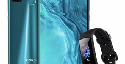 Honor 9X Liten ennakkotilaajille tarjotaan kaupan päälle Honor Band 5.