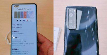 Huawei Nova 7 Pro 5G.