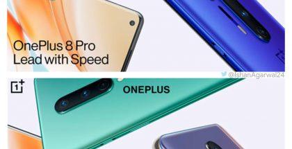 OnePlus 8 -uutuudet. Kuva: Ishan Agarwal.