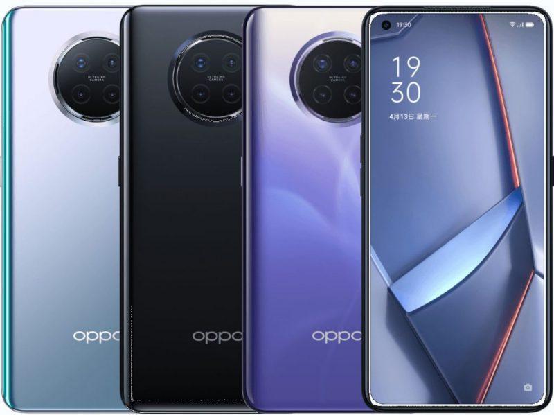 Oppo Ace2:n värivaihtoehdot.