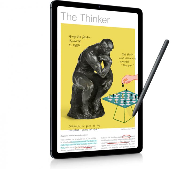 Samsung Galaxy Tab S6 Lite ja S Pen -kynä.
