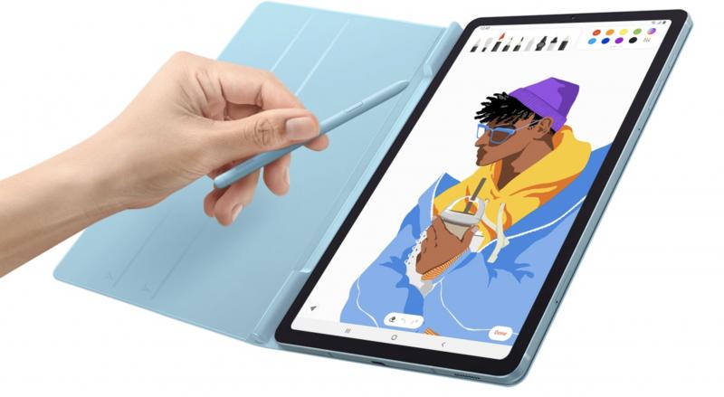 S Pen -kynä tulee Galaxy Tab S6 Liten mukana mutta suojakuori on lisävaruste.