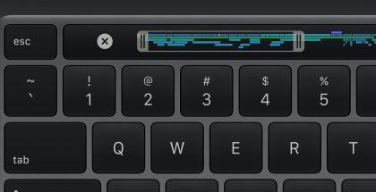 Esc-näppäin on nyt fyysinen eikä enää osana Touch Bar -näyttöriviä.