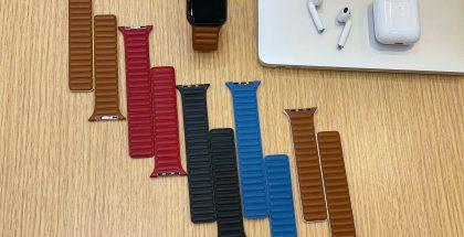 Uusia Applen Watch-nahkarannekkeita? Kuva: Reddit.
