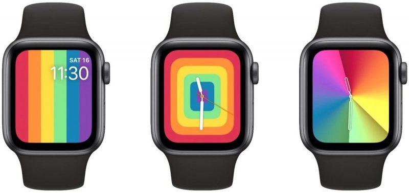 Tällaiset uudet kellotaulut Apple Watchille olisi pitänyt ilmestyä päivityksessä.