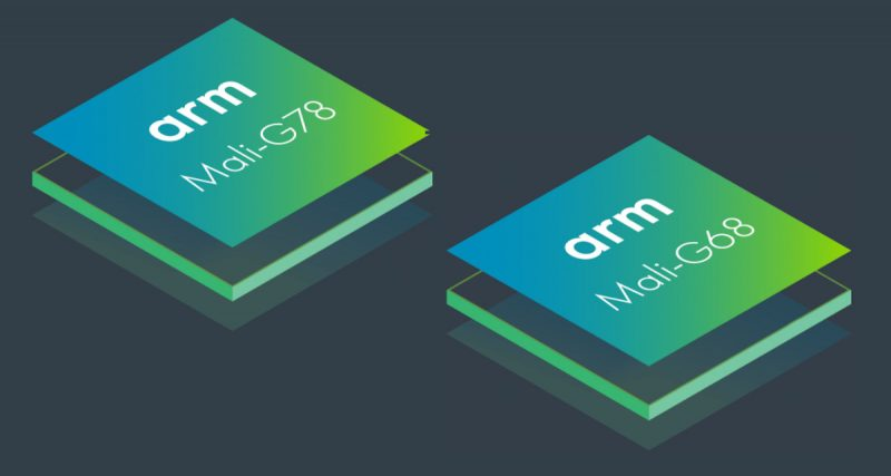 Mali-G78 ja Mali-G68 ovat ARMin grafiikkasuoritinten uutuudet.