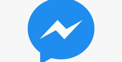 Facebook Messenger logo.