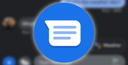 Googlen Viestit-sovelluksen kuvake.