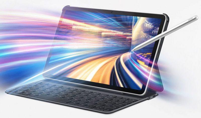 Honor ViewPad 6, Magic Pencil -kynä ja näppäimistölisäkuori.