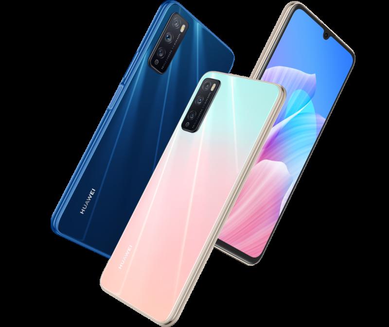 Huawei Enjoy Z 5G eri väreissä.