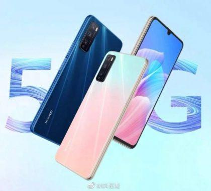Huawei Enjoy Z eri väreissä.