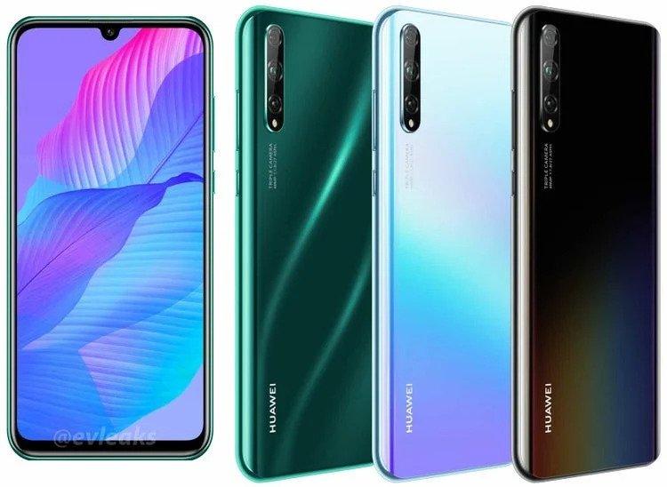 Huawei P Smart S. Kuva: evleaks / Evan Blass.