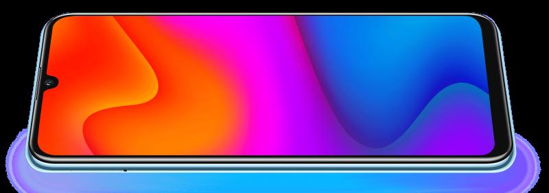 Y8p on varustettu OLED-näytöllä.