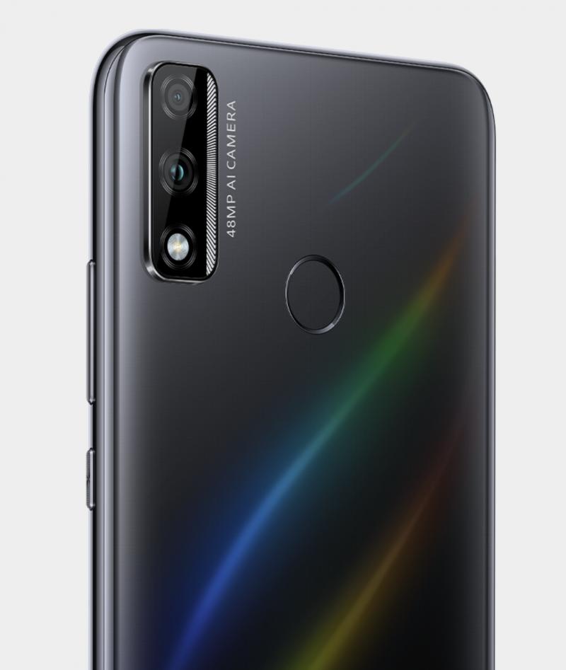 Huawei Y8s mustana.