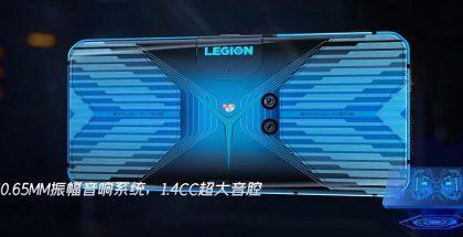 Kaksi takakameraa ovat Legion-pelipuhelimessa sijoitettu lähelle takapinnan keskikohtaa. Kuva: XDA Developers.
