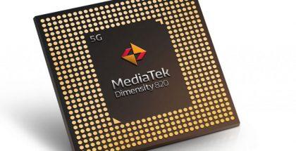 MediaTek Dimensity 820.