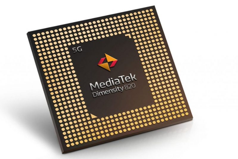 MediaTek Dimensity 820.