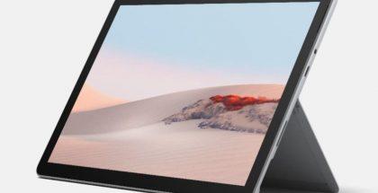 Microsoft Surface Go 2 on varustettu edelleen myös avautuvalla seisontatuella.