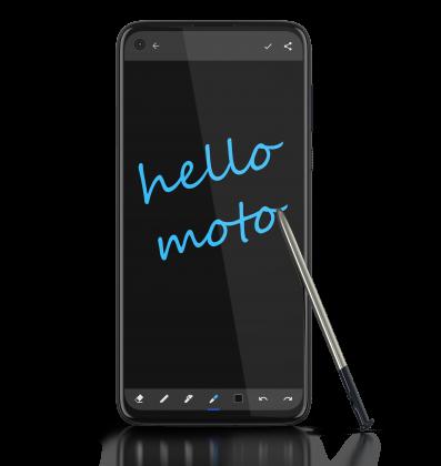 Moto G Pro oli jo varustettu stylus-kynällä.