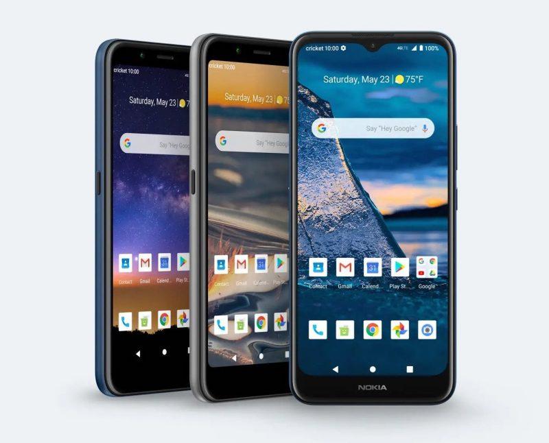 Nokia C2 Tennen, Nokia C2 Tava ja Nokia C5 endi ovat HMD Globalin kolme uutuuspuhelinta yhteistyössä Cricket Wirelessin kanssa.
