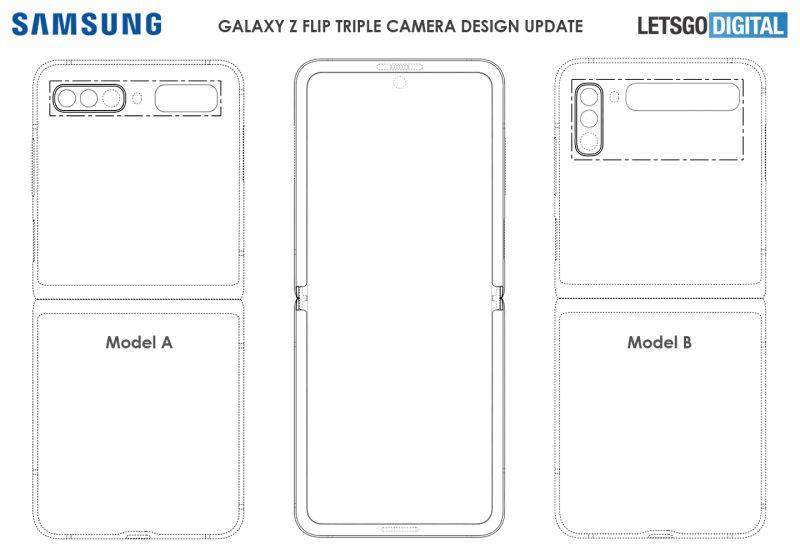 Kuvat Samsungin mallisuojahakemuksesta.