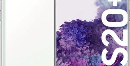 Samsung Galaxy S20+ 5G, Cloud White.