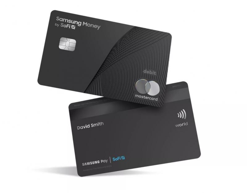 Samsung Money by SoFi -maksukortti.