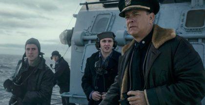 Tom Hanks on myös pääosassa Greyhound-elokuvassa.