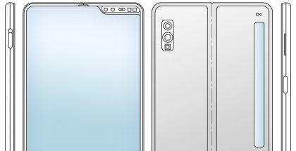 Tällaista laitetta Samsungin patenttihakemus esittelee. LetsGoDigital-sivusto loi tyylikkäämmät mallinnoskuvat.