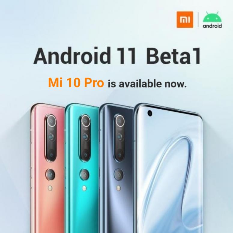 Android 11 Beta 1 on nyt ladattavissa Xiaomin Mi 10 Prolle.