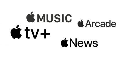 Applen palveluita.