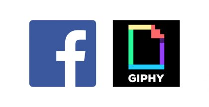 Facebook + Giphy.