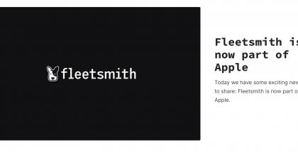 Apple osti Fleetsmithin.