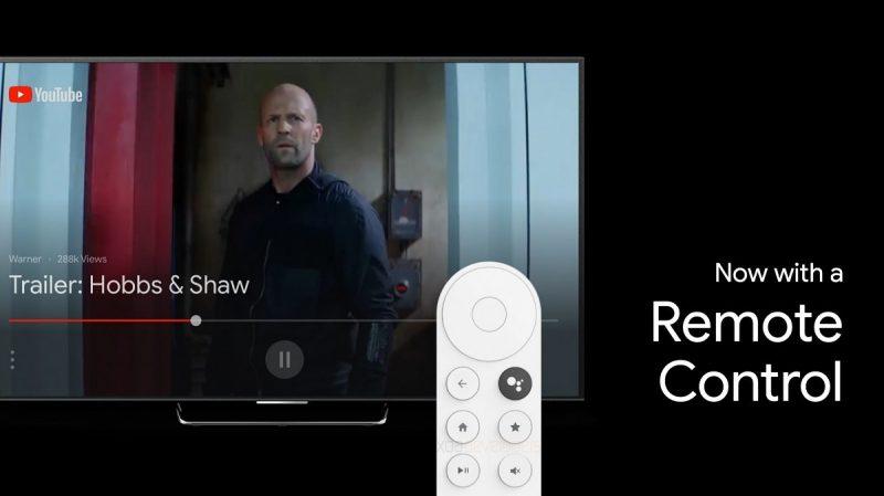Uuden Google-televisiolaitteen kaukosäädin. Kuva: XDA Developers.