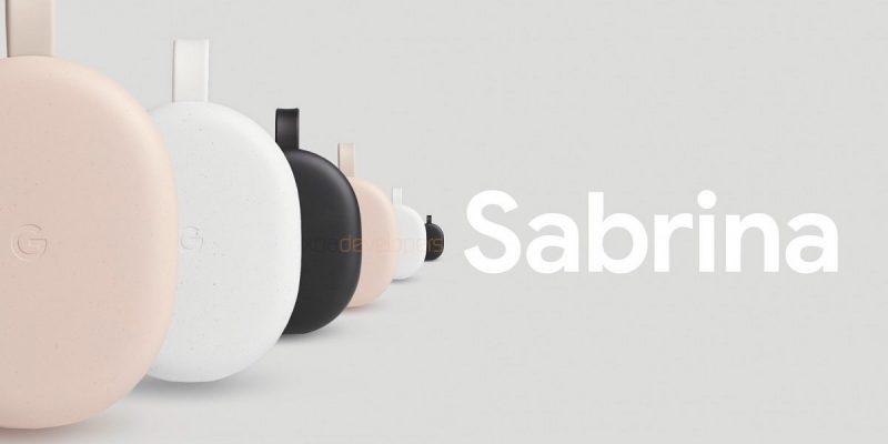 Sabrina-koodinimellinen Googlen uusi televisioon liitettävä Android TV -lisälaite. Kuva: XDA Developers.