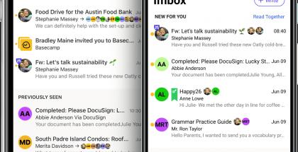Hey-sovellus iPhonessa ja Androidilla.