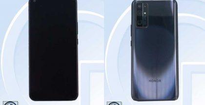 Mahdollinen Honor X10 Pro kiinalaisviranomaisen TENAAn kuvissa.