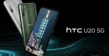 HTC U20 5G tulee saataville kahtena värivaihtoehtona.
