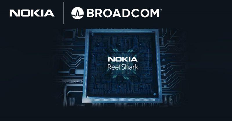 Nokian Broadcom-yhteistyö laajentaa ReefShark-tuotteistoa.