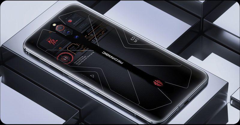 nubian Red Magic 5G Transparent Edition.