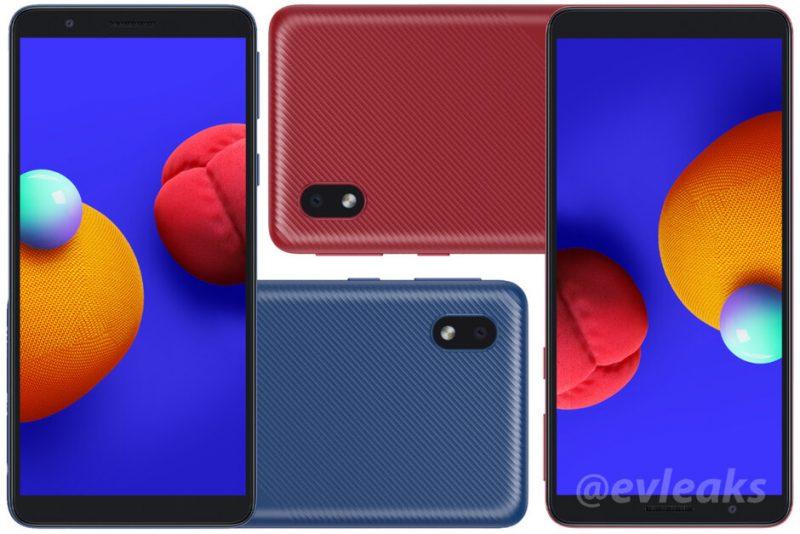 Samsung Galaxy A01 Core. Kuva: evleaks / Evan Blass.