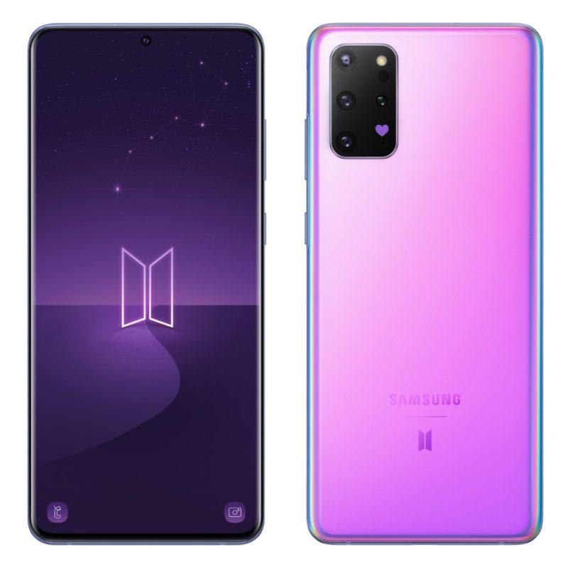 Samsung Galaxy S20+ 5G BTS Edition.