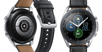 Samsung Galaxy Watch3 (45 mm). Kuva: evleaks / Evan Blass.